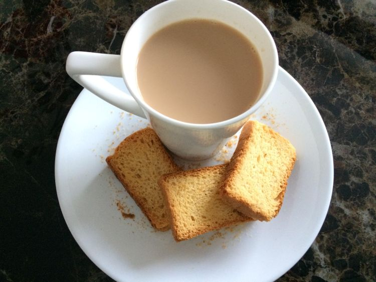 rusk and chai