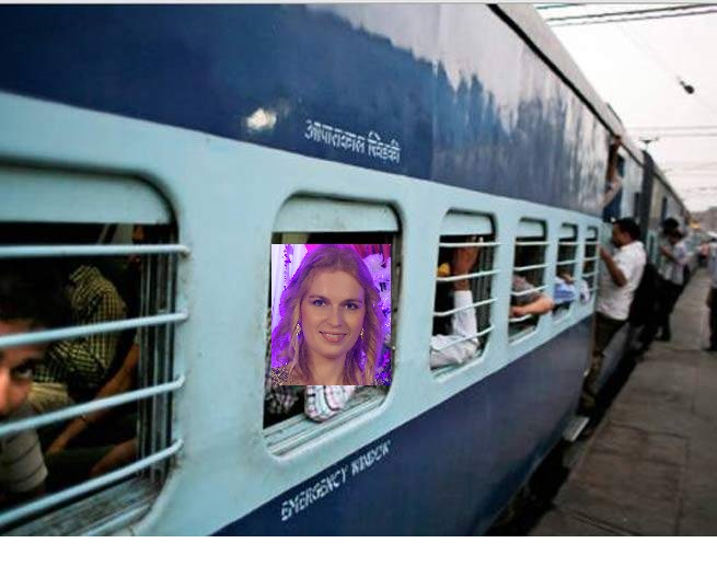 Indian local train