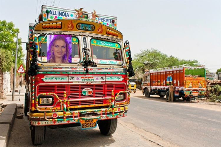Indian truck